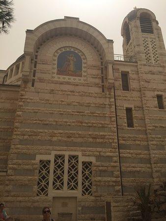 Church of Saint Peter in Gallicantu : Parte externa da igreja