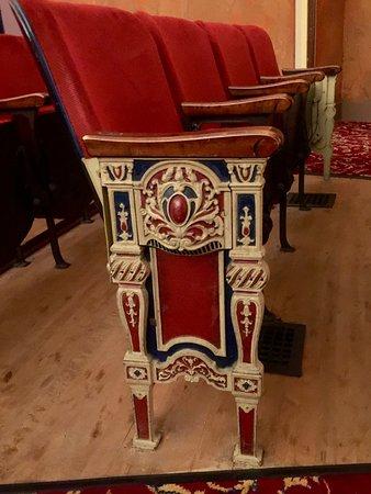 Avalon Theater : Chair iron work