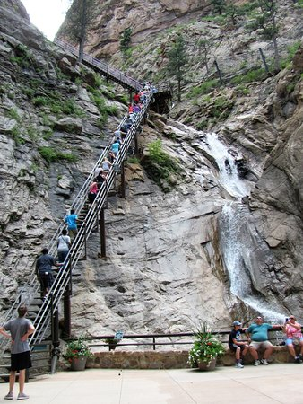 Charmant Seven Falls: Open Stairs To Top Of Larger Falls