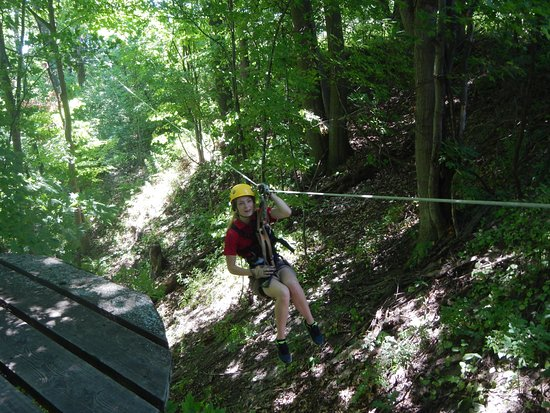 Turkey Point, Canada: Zipline guide