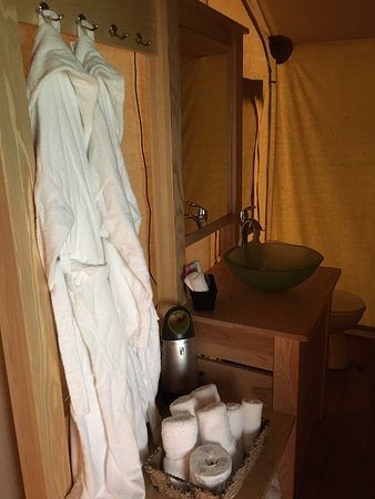 Turkey Point, Canada: bathroom in the cabin!