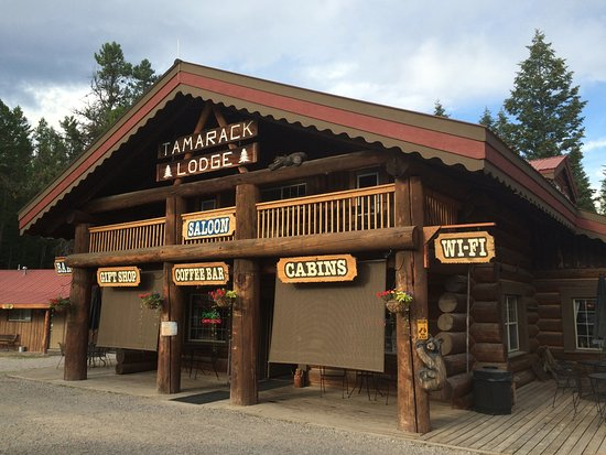 Columbia Falls, Μοντάνα: Located in Tamarack Lodge