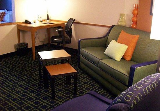Strasburg, Βιρτζίνια: Executive Suite - Living Area