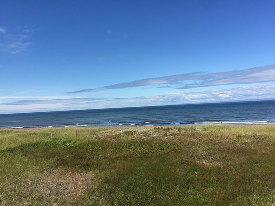 Miscou, Canada : view from boardwalk