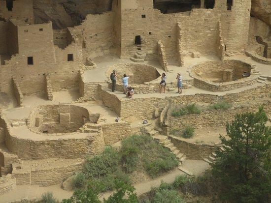 Mancos, CO: Cliff Palace Ruins