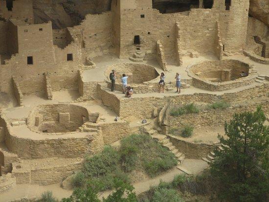 Mancos, Колорадо: Cliff Palace Ruins
