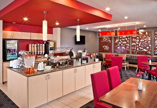 Hanover, MD: Breakfast Area