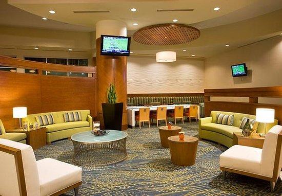 SpringHill Suites Las Vegas Convention Center: Lobby Work Area