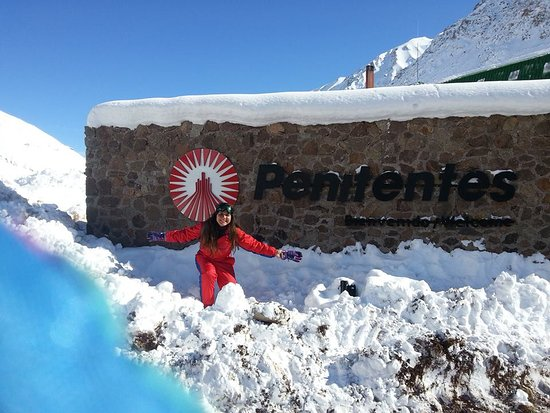 Província de Mendoza, Argentina: Chegando em Penitentes