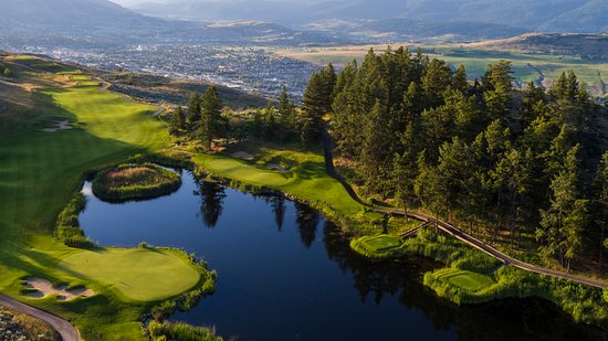 Vernon, Canada: Bird's eye view of #15 & #1