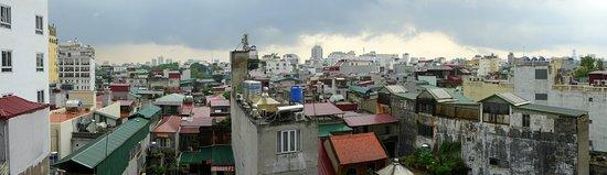 Essence Hanoi Hotel & Spa: Panoramique depuis chambre 7° et