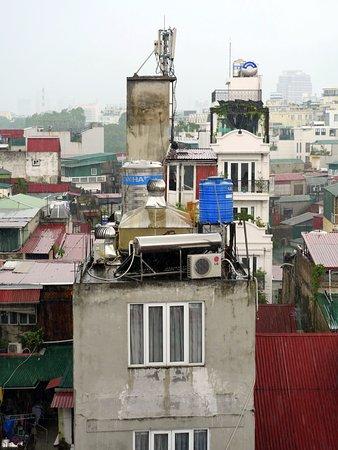 Essence Hanoi Hotel & Spa: Voisinage au 7° étage de l'hotel