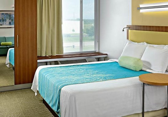 Saginaw, MI: King Studio Suite Sleeping Area