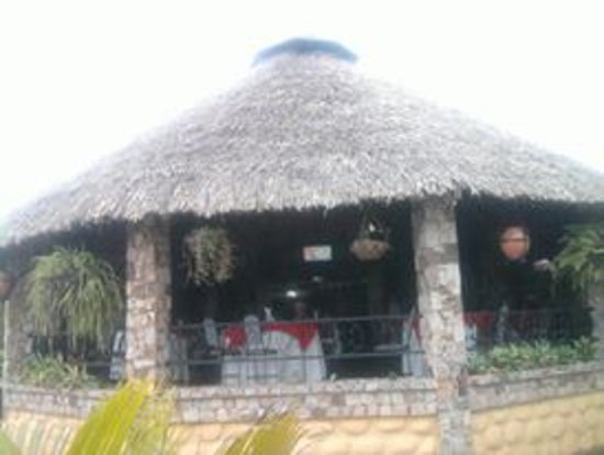 Trujillo, Venezuela: desde la parte externa del restauran un lugar muy acogedor y fresco