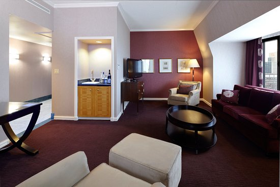 InterContinental Montreal : Illustrious Executive Suite, Living room - Suite Exécutive Illustre, salon