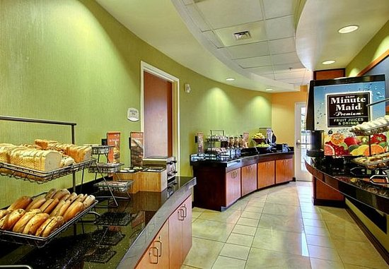 Augusta, Georgien: Breakfast Buffet