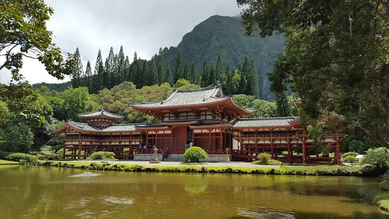 Kaneohe, Hawái: Byodo-In Temple