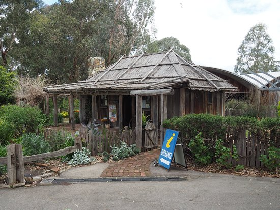 The Slab Hut and Visitor Information Centre at Orbost