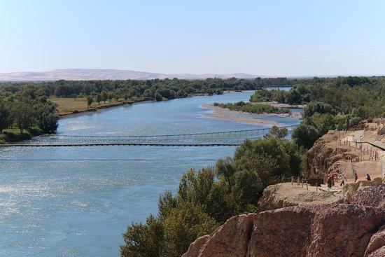 Burqin County, China: E Er Qi Si River