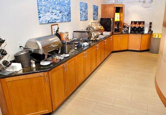 Lynchburg, Wirginia: Breakfast Buffet