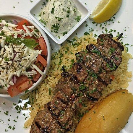 Ladner, Canadá: Lunch Beef Souvlaki
