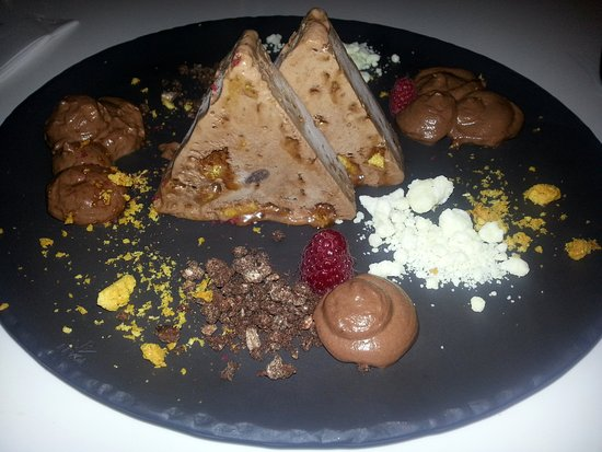 Bathurst, Australien: Very sweet but delicious dessert