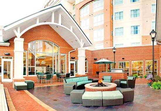 Residence Inn Baltimore Hunt Valley: Outdoor Patio