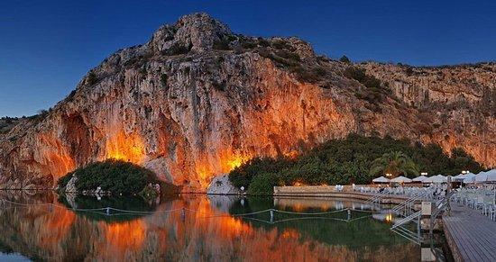 Glyfada, Grækenland: Vouliagmeni Lake
