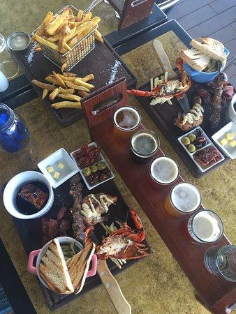 Pemberton, Australie : Tasting plates