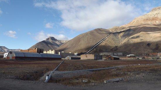 The mine at Pyramiden