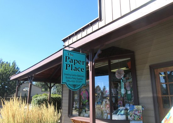 Paper Place, Sisters, Oregon