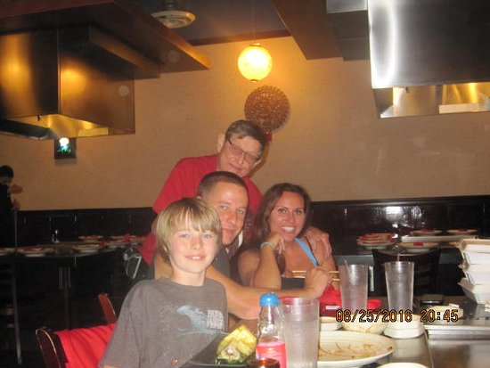 Coon Rapids, MN: My grandson, son and girlfriend and I