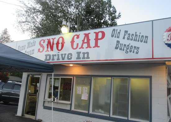 Sno Cap Ice Cream, Sisters, Oregon