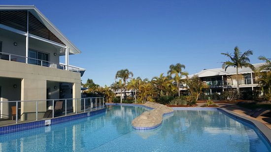 Oaks Pacific Blue Resort Salamander Bay: 20160826_073822_large.jpg