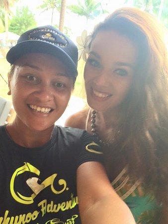 miss Tahiti 2016 et Miss teahupoo adventures