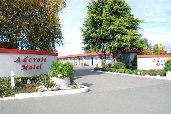 Ashburton, Nuova Zelanda: ASURE Adcroft Mote -l Front Entrance