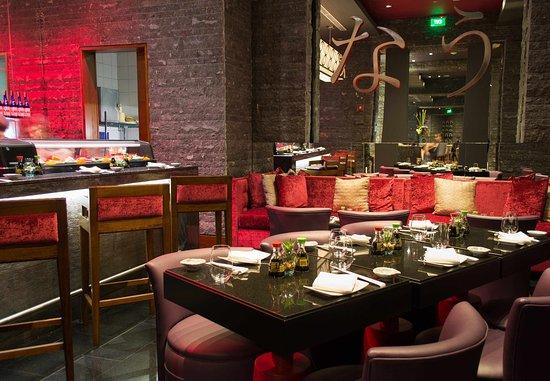 JW Marriott Hotel Bogota: NAU Sushi Lounge