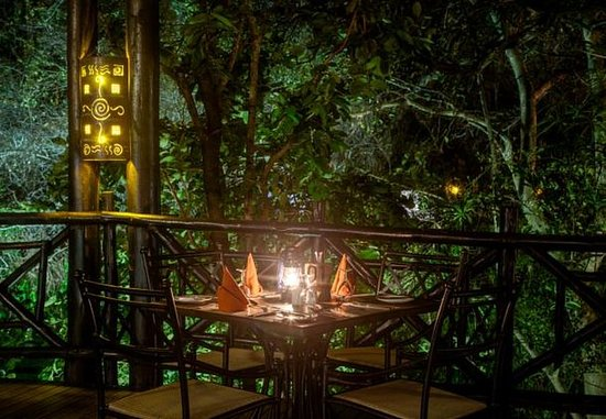Skukuza, Sør-Afrika: Kudyela Restaurant - Outdoor Dining