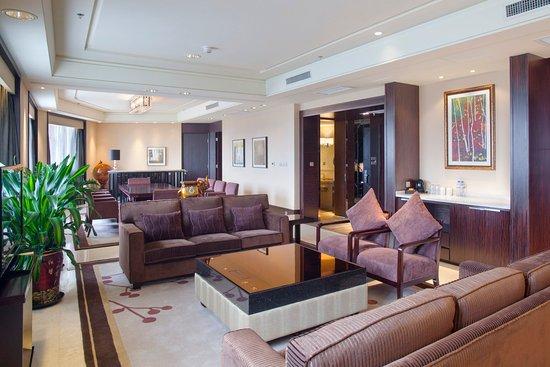 Μουνταντζιάνγκ, Κίνα: Presidential Suite in Holiday Inn Mudanjiang