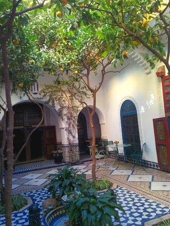 Ryad El Borj: cortile interno