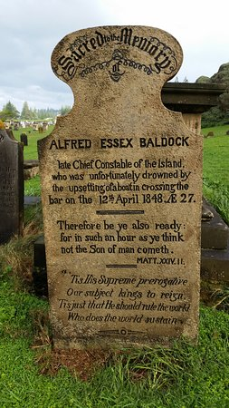 Kingston, Australia: headstone