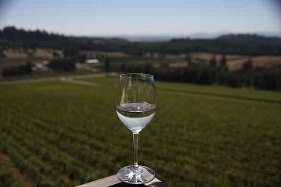 Turner, Oregón: Beautiful scenery and great wine