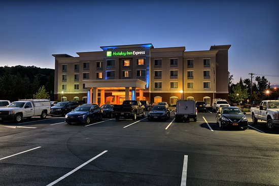 Cortland, NY: It's a great evening at the Holiday Inn Express