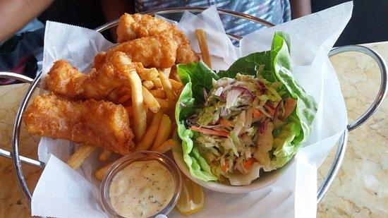 Marina del Rey, CA: Fish and chips