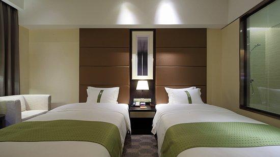 Nantong, الصين: Double Bed Guest Room