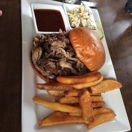 Frisco, CO: BBQ sandwichh