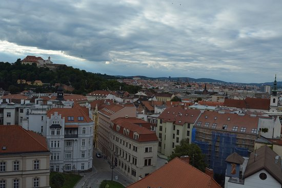 Brno, Czech Republic: view from tower