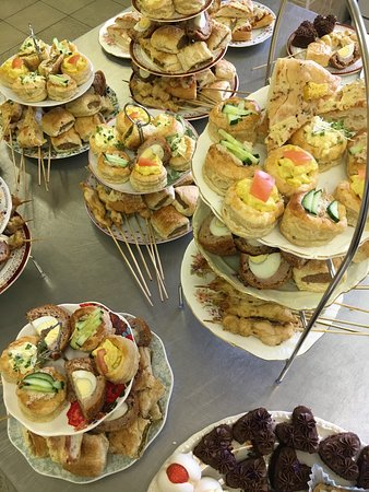 Ellesmere, UK: A few recent outside catering events-2 for a wedding,1 for Spunhill Farm Sales clients & lastly