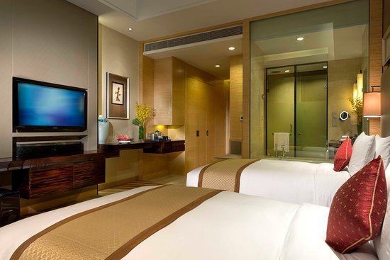 Tangshan, Chine : 2 single beds deluxe