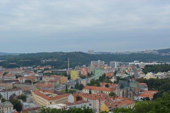 Brno, República Tcheca: view from Spilberk Castle